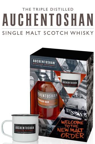 Auchentoshan American Oak Whisky Geschenkset
