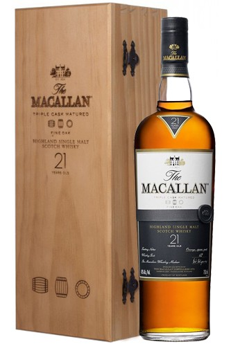The Macallan 21 Jahre Fine Oak