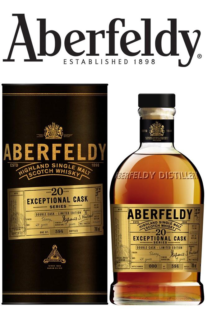Aberfeldy 20 Jahre Exceptional Cask - 54%
