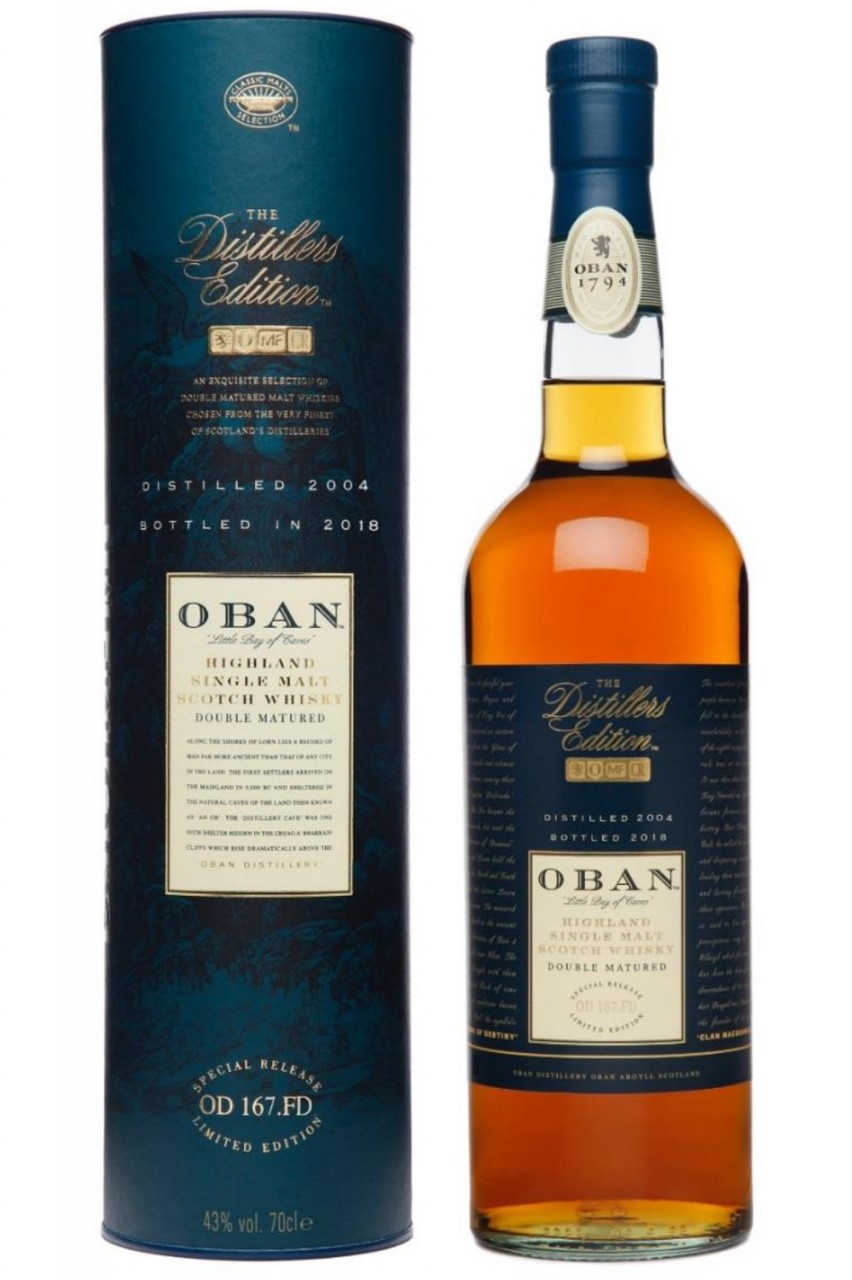 Oban Distillers Edition 2018