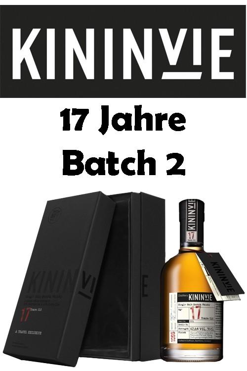 Kininvie 17 Jahre Batch 2 - Limited Edition