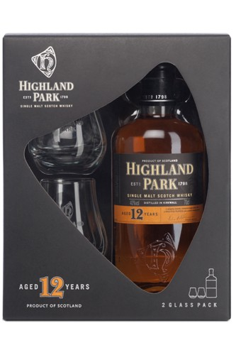 Highland Park 12 Glas Set