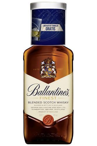 Ballentines Finest mit Tumbler