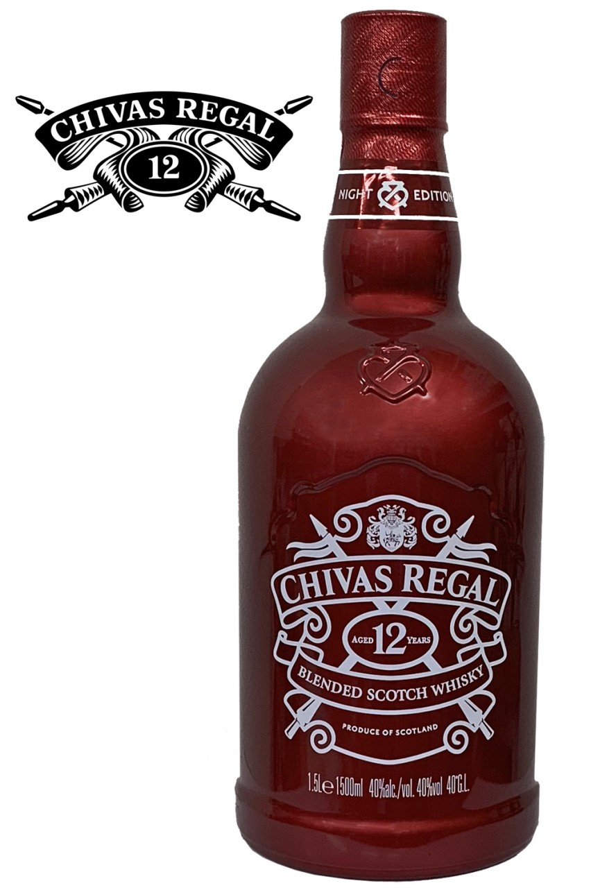 Chivas Regal 12 Jahre RED NIGHT Edition 1,5 Liter Magnum