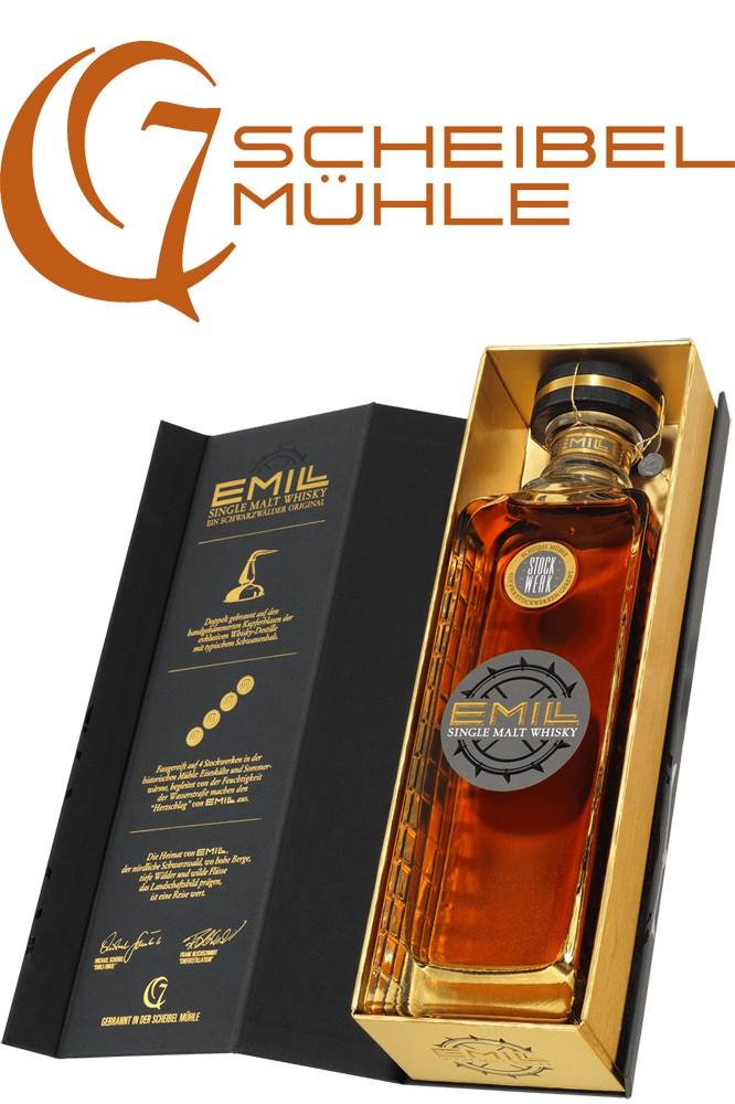 Emill Stockwerk Whisky mit Geschenkbox