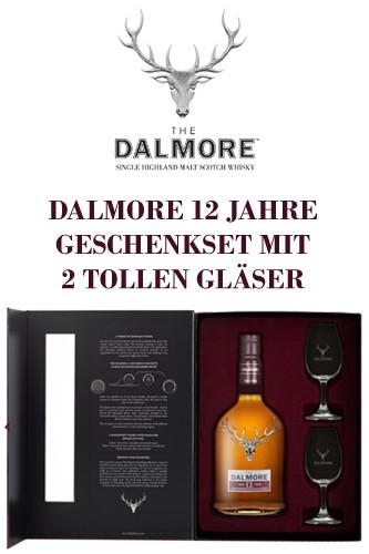 Dalmore 12 Jahre Geschenkset mit Gläser