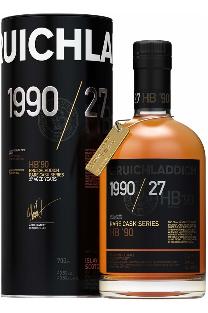 Bruichladdich 1990 - Haut de Brion Cask Finish
