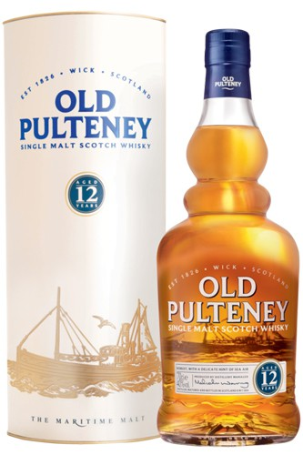 Old Pulteney 12 Jahre Single Malt Whisky mit Tube