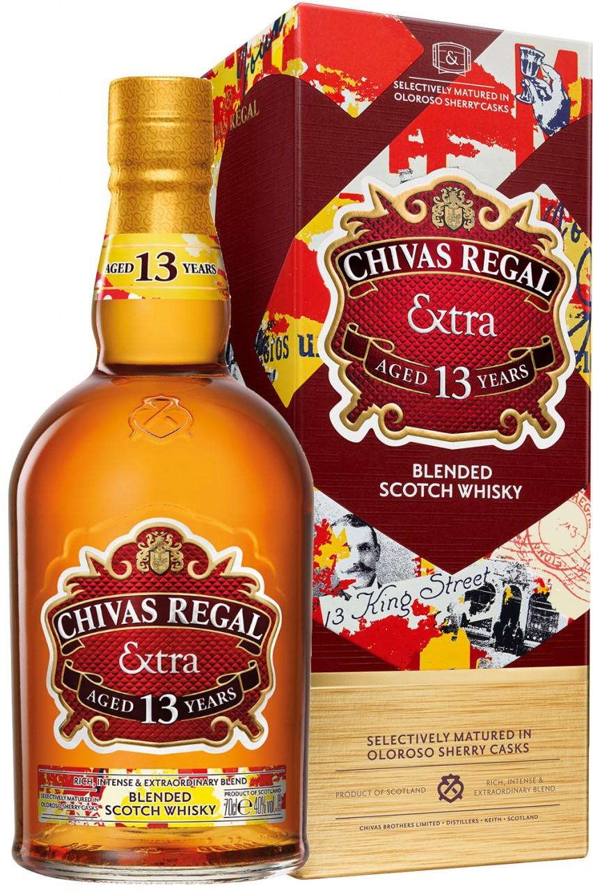Chivas Regal EXTRA - 13 Jahre Sherry Cask