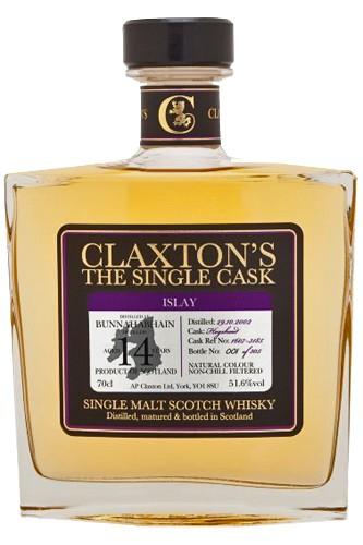 Bunnahabhain 14 Jahre Cask Strength - Claxton