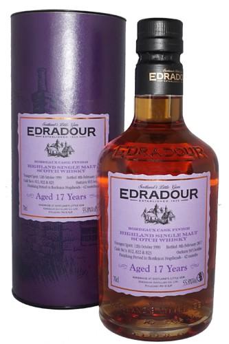 Edradour 17 Jahre Bordeaux Cask Finish