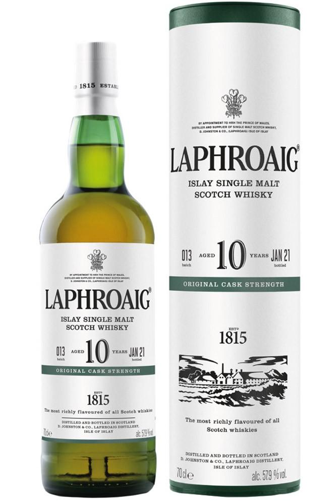 Laphroaig 10 Jahre - Cask Strength - Batch 13