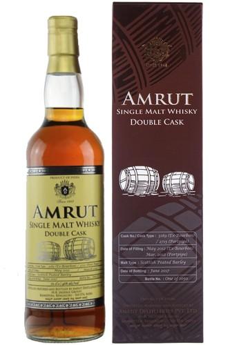 Amrut Double Cask 3rd Edition - Bourbon / Portpipe