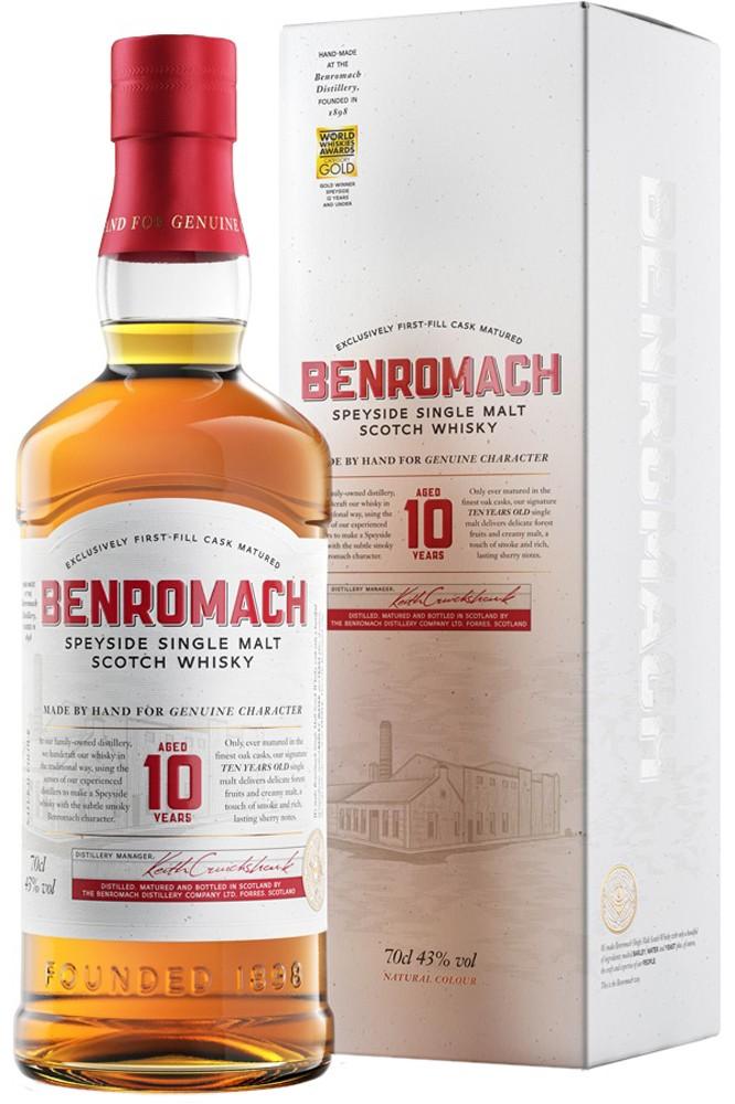 Benromach 10 Jahre Single Malt Whisky