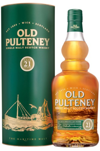 Old Pulteney 21 Jahre Single Malt Whisky