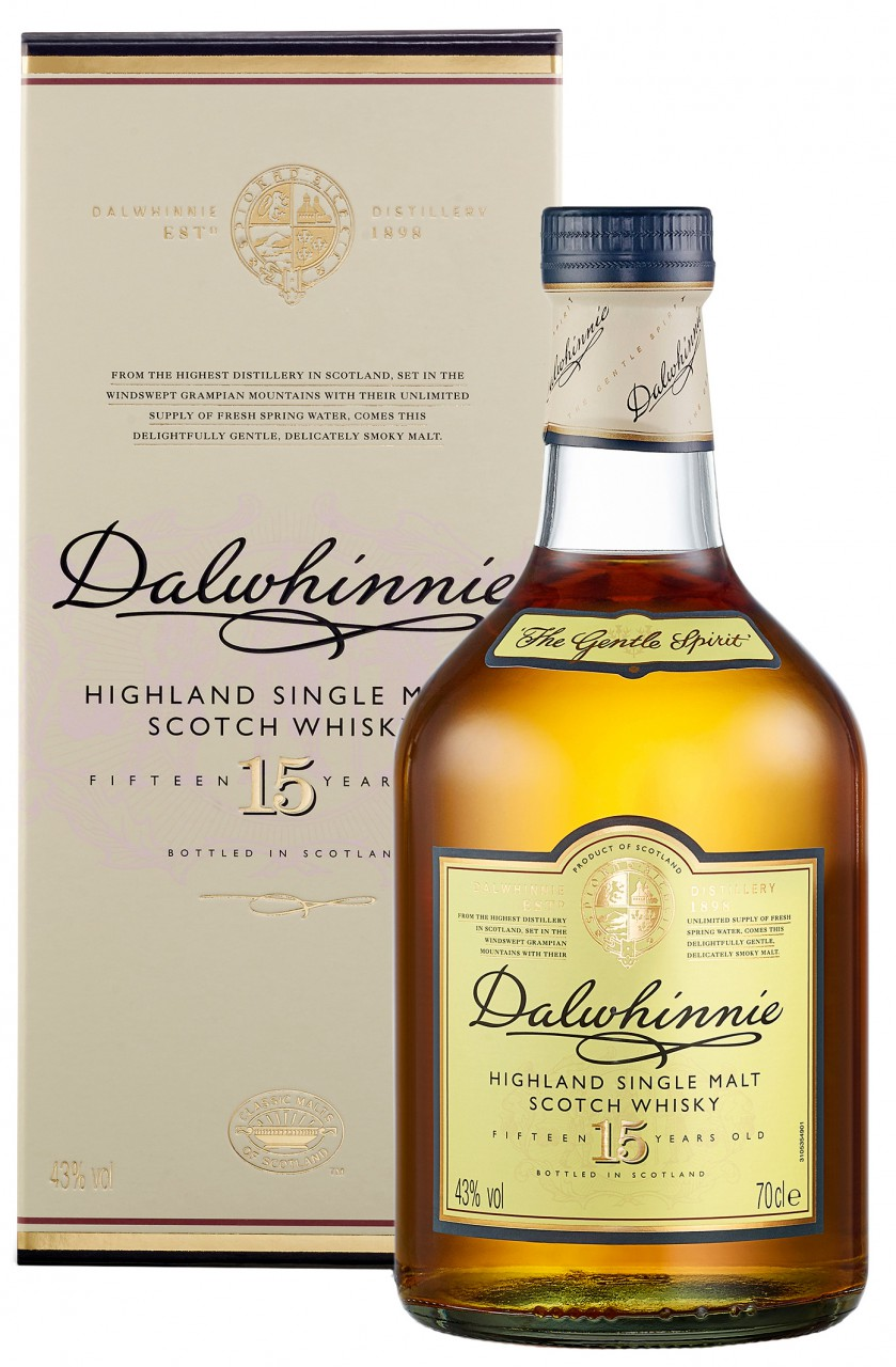 Dalwhinnie 15 Jahre Single Malt Whisky