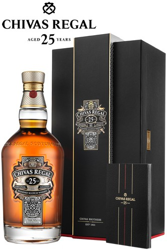 Chivas Regal 25 Jahre in Box