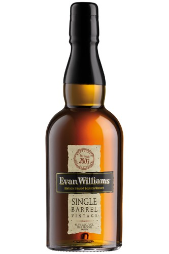 Evan Williams Single Barrel Bourbon Whiskey