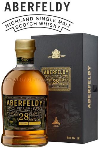 Aberfeldy 28 Jahre Highland Malt
