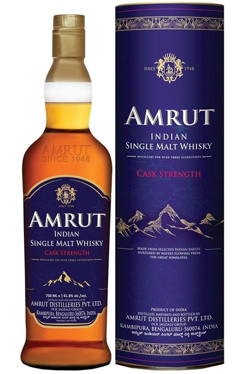 Amrut Cask Strength Single Malt