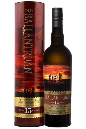 Old Ballantruan 15 Jahre - Peated Whisky - 50% Vol.