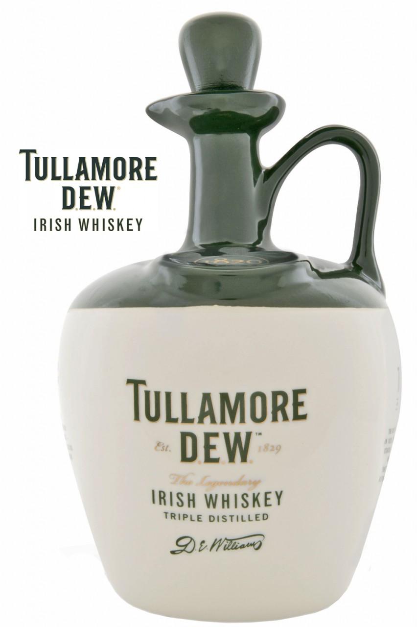 Tullamore D.E.W. Cruchon im Keramikkrug