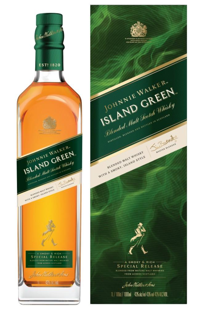 Johnnie Walker Island Green - Special Release
