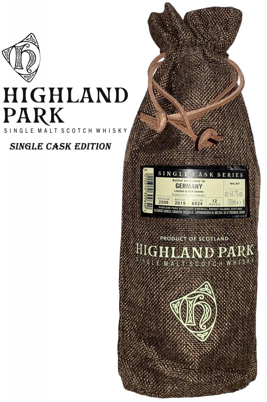 Highland Park - Single Cask No. 6824 - 64,7%