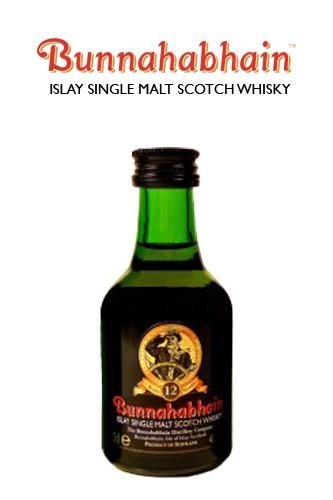 Bunnahabhain 12 Jahre Miniatur Flasche
