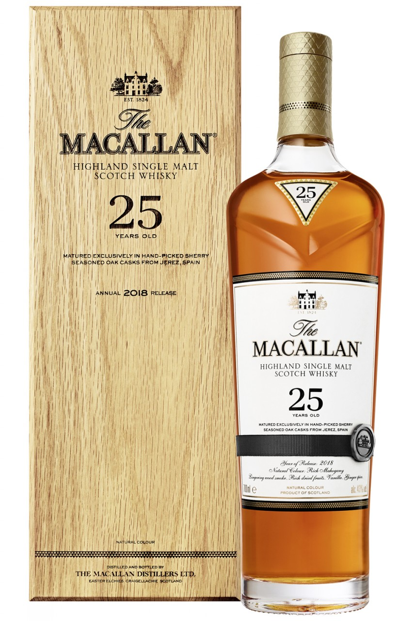 The Macallan 25 Years Single Malt Whisky