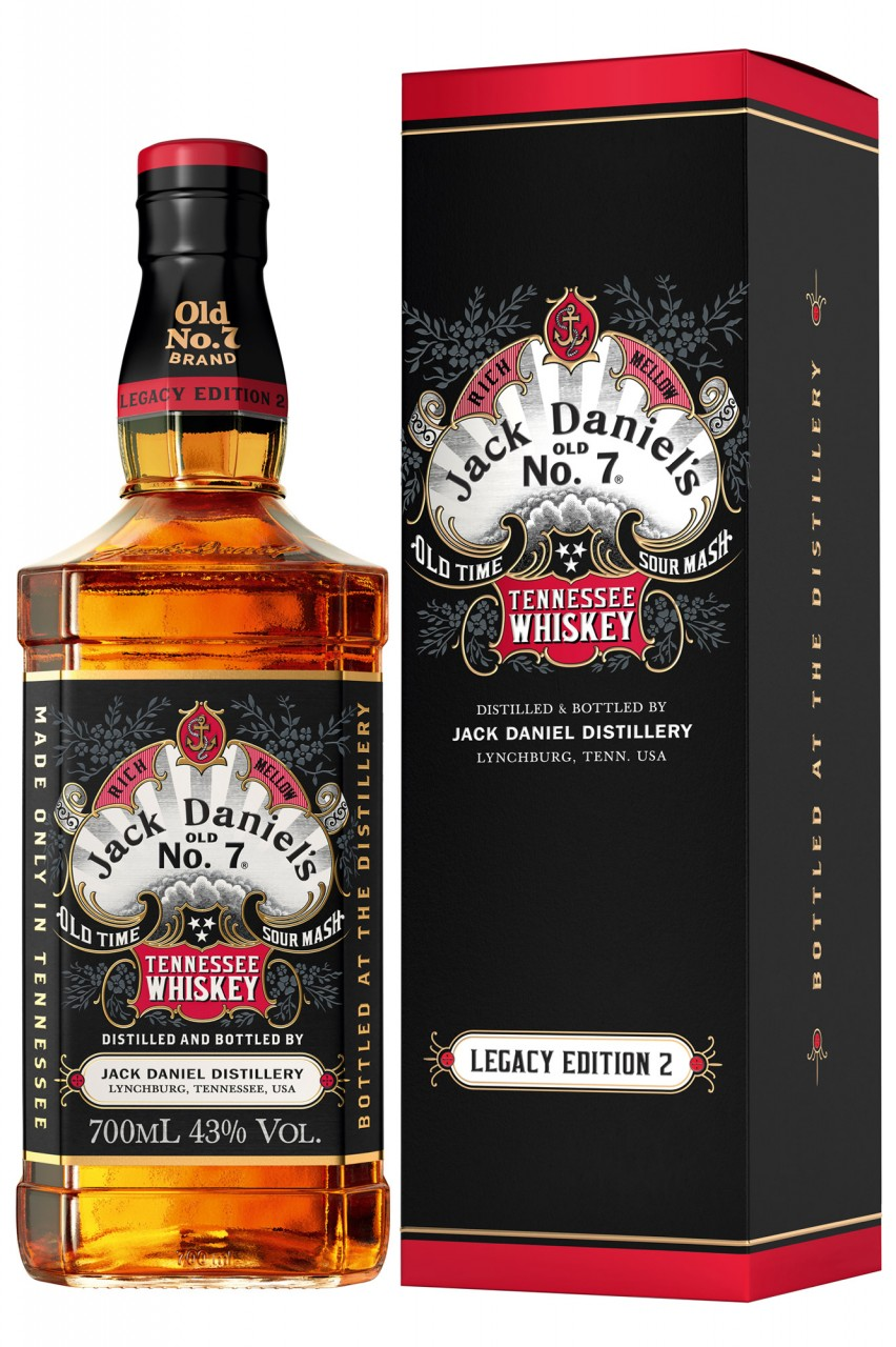 Jack Daniels Legacy Edition No. 2 - Limited Edition