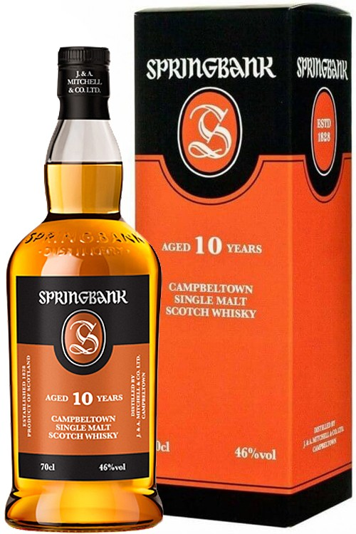 Springbank 10 Jahre - Campeltown Whisky