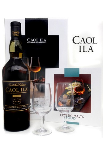 Caol Ila Distillers Edition Food & Malt Pack Limited Edition