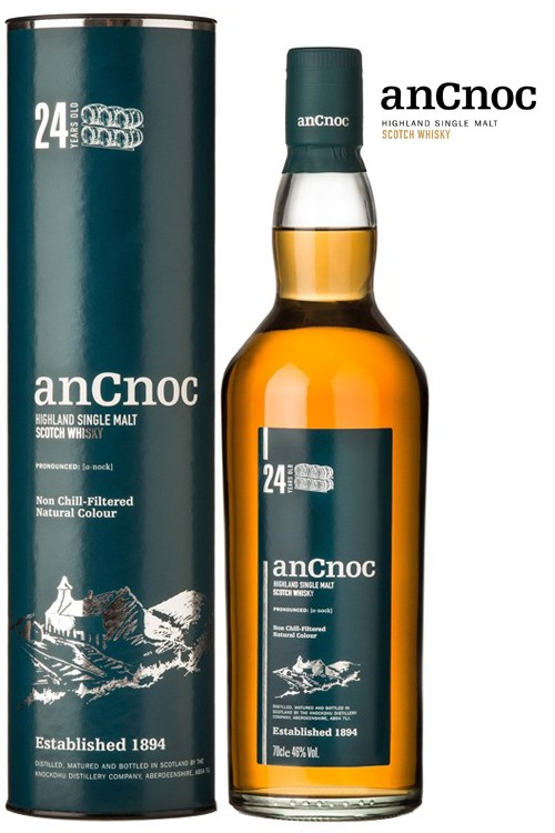 AnCnoc 24 Jahre Whisky