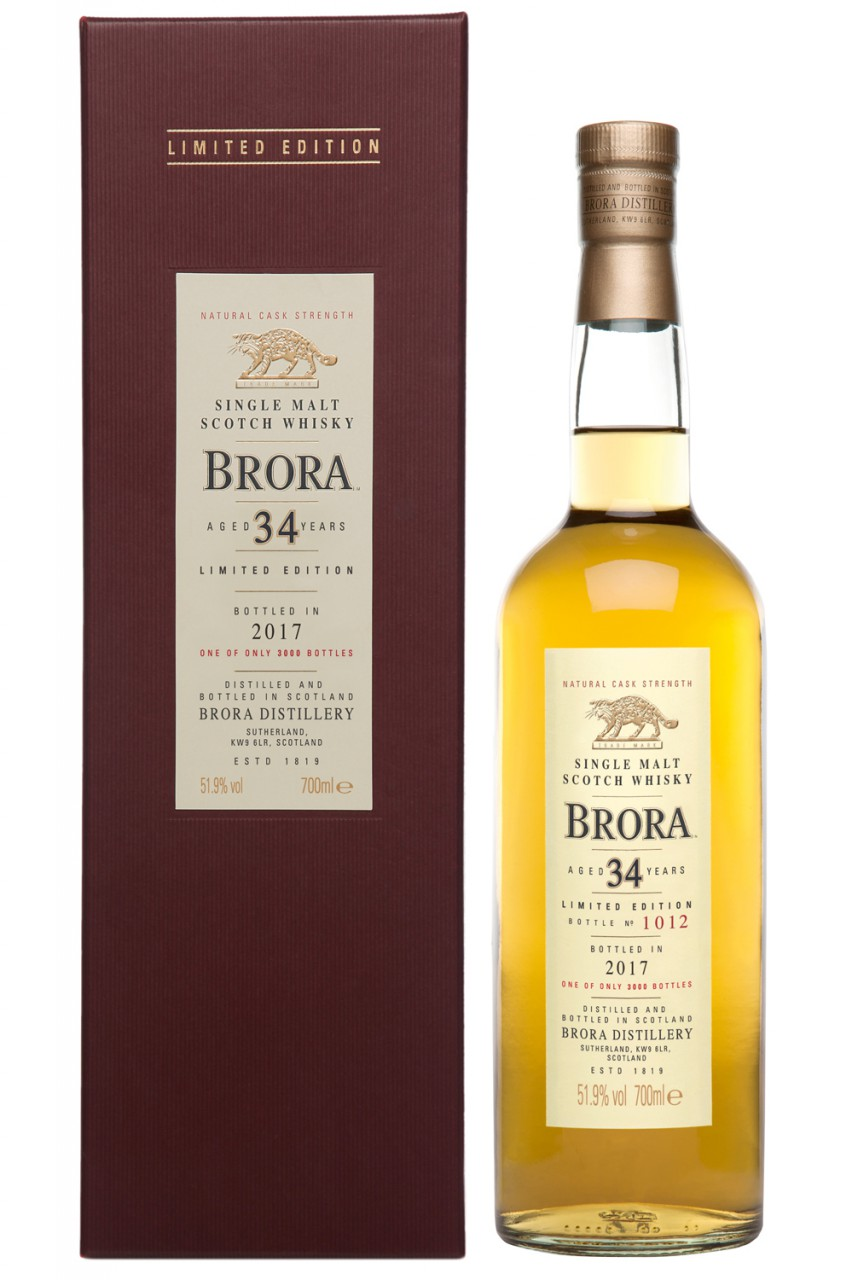 Brora 34 Jahre Special Release 2017