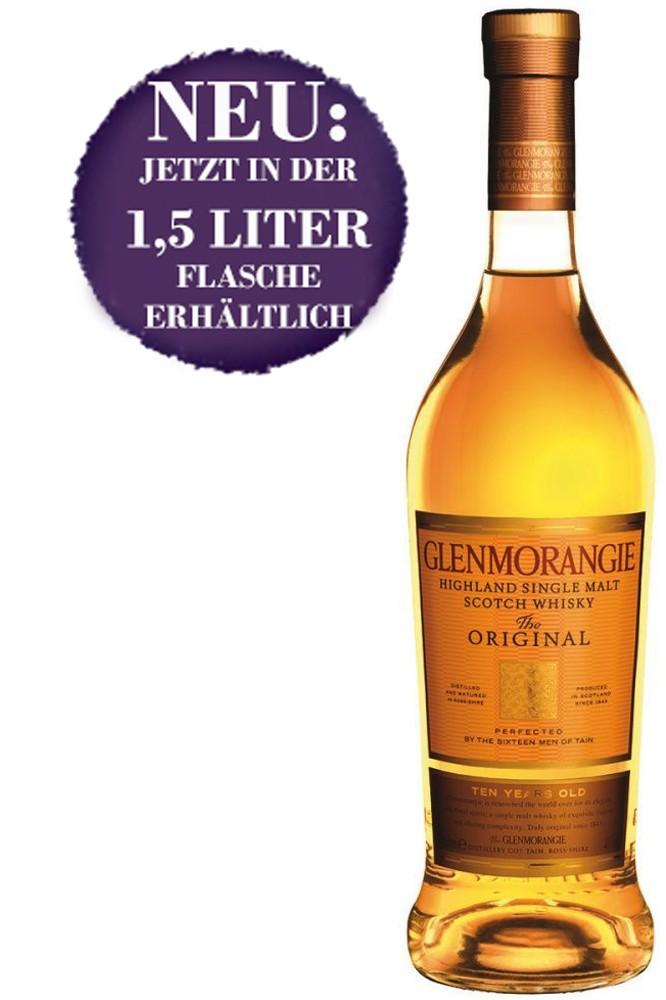 Glenmorangie 10 Jahre - 1,5 Liter Magnum Flasche