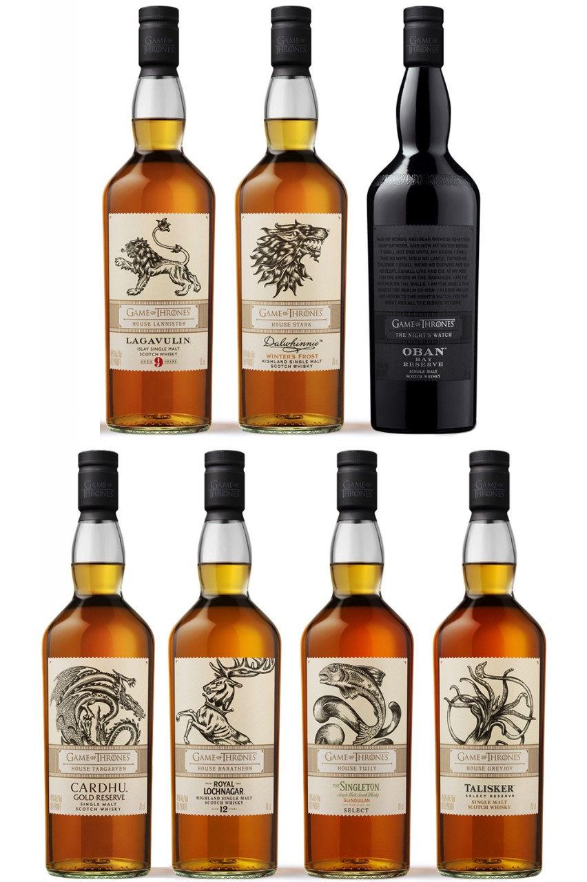 Game Of Thrones Single Malt Collection Limited Edition Whisky Wizard
