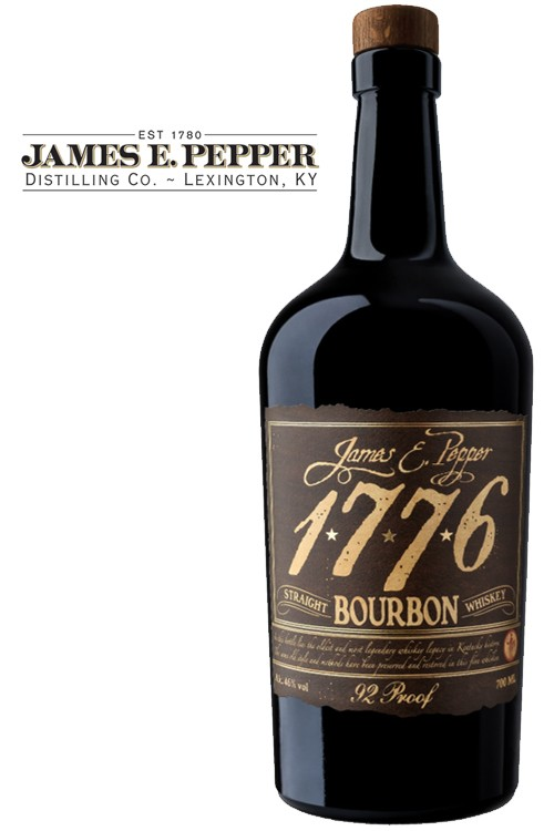 James E. Pepper 1776 Bourbon Whiskey
