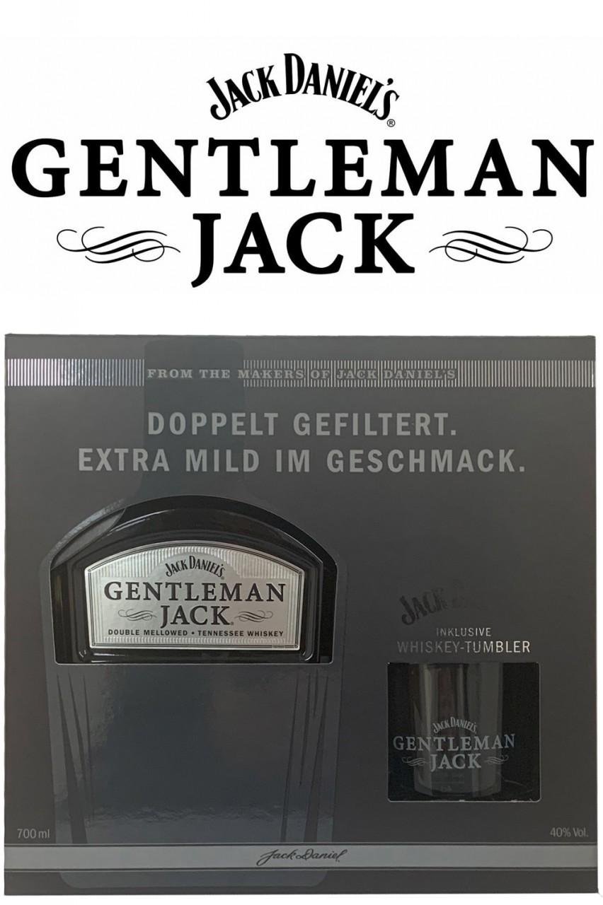 Jack Daniels Gentleman Jack - Geschenkset