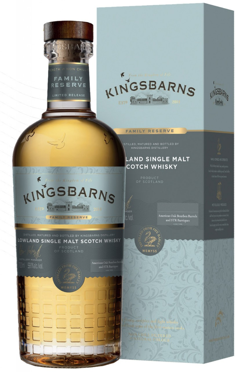 Kingsbarns Family Reserve - 59,2% Vol.