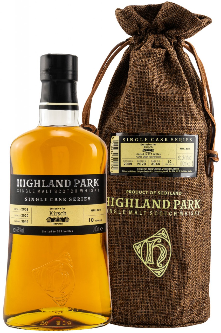 Highland Park - Single Cask No. 3944 - 66,5%