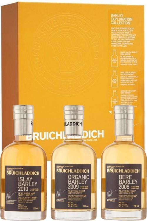 Bruichladdich Barley Exploration Pack - 3 x 200 ml
