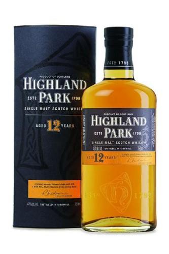 Highland Park 12 Jahre Scotch Single Malt Whisky