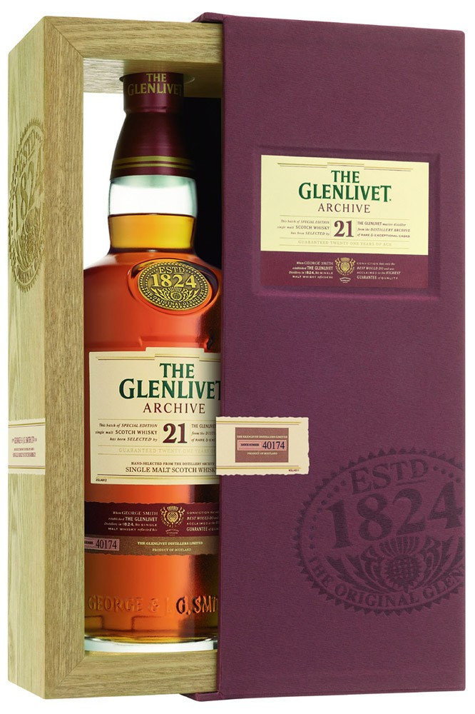The Glenlivet 21 Jaher Archive