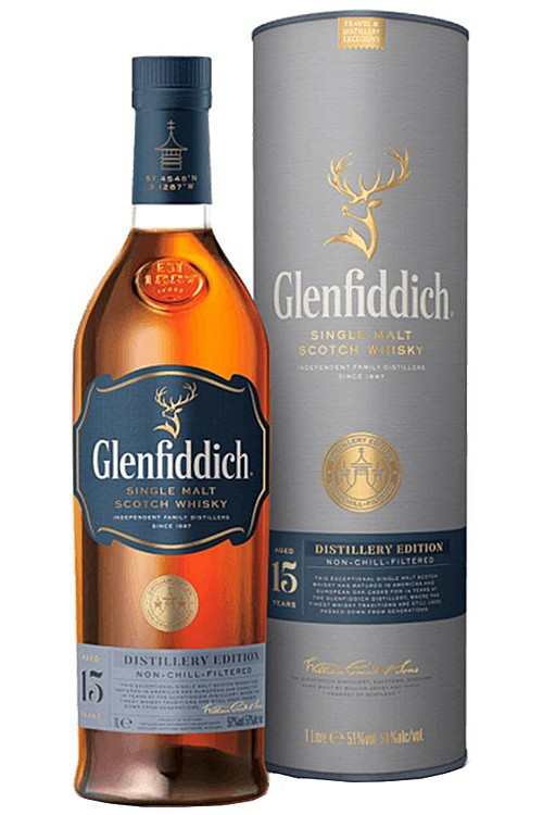 Glenfiddich 15 Distillery Edition - 1 Liter