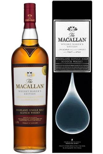 Macallan X-Ray Tropfen Motiv