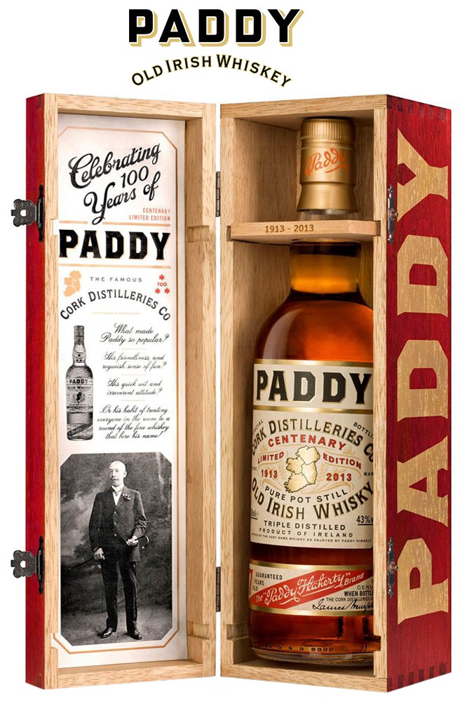 Paddy Centenary Irish Whiskey