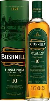 Bushmills 10 Jahre 40% - 1 Liter