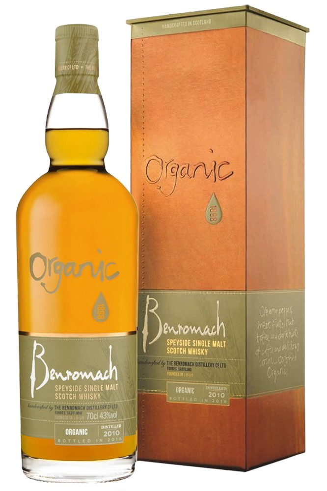 Benromach Organic 2010 - Limited Edition