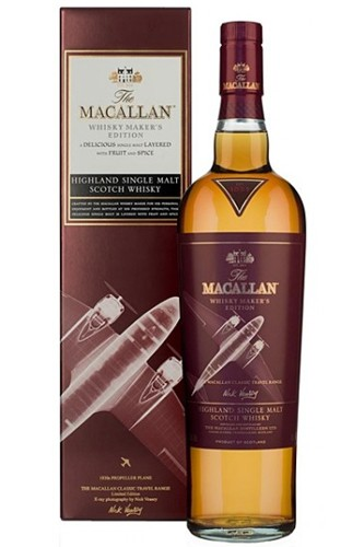 Macallan Whisky Maker´s Edition - Propeller Plane